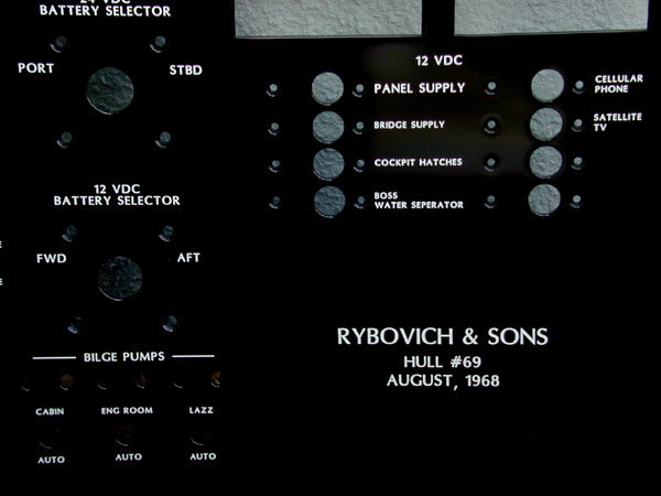 rybovich boat panel