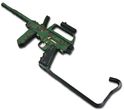 camo paintball gun