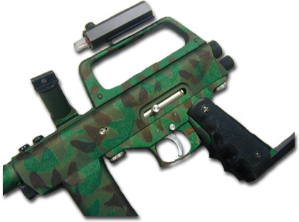 Camo Paintball Gun 2